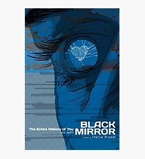 Black Mirror S01E03 - Entire History of You Photographic Print