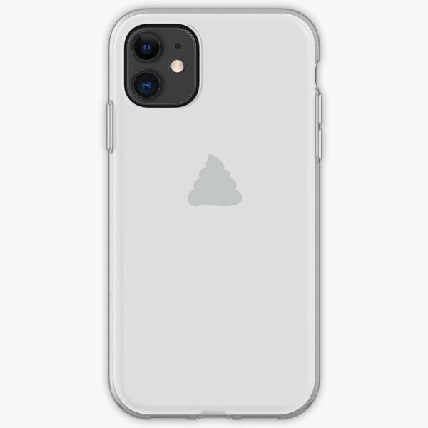 iCrap - Poop Apple Emoji Coque souple iPhone