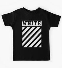 Off White (Black) Kids Tee