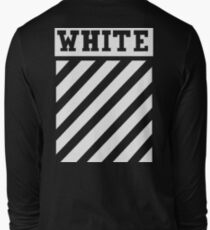 Off White (Black) Long Sleeve T-Shirt