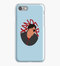 Xander Silhouette iPhone Case/Skin