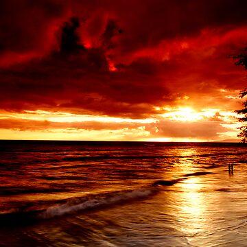 Maui Sunset by jtgray