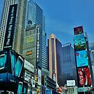 Times Square - New York by clarebearhh