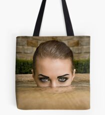 Eyes above Tote Bag