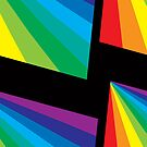 Psychedelic Rainbow and black by YSied