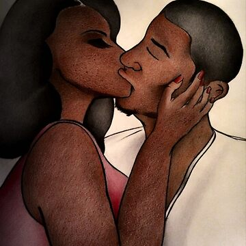 Black Love Kiss by Kash by kash2dawizzle
