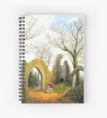 The Letter in Conygar Woods Spiral Notebook