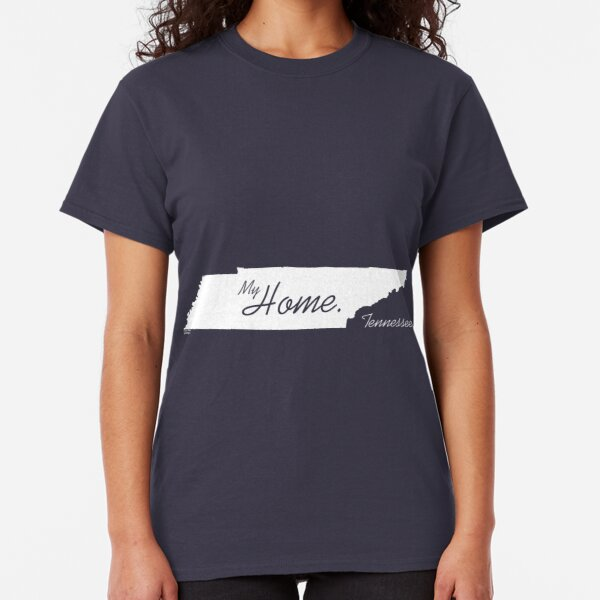 My Home, Tennessee state shirt, White Classic T-Shirt
