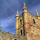 Port Arthur Church by Colin Butterworth