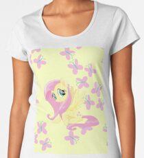 fluttershy Women's Premium T-Shirt