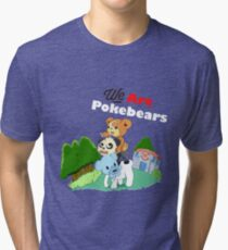 We Are Pokebears Tri-blend T-Shirt
