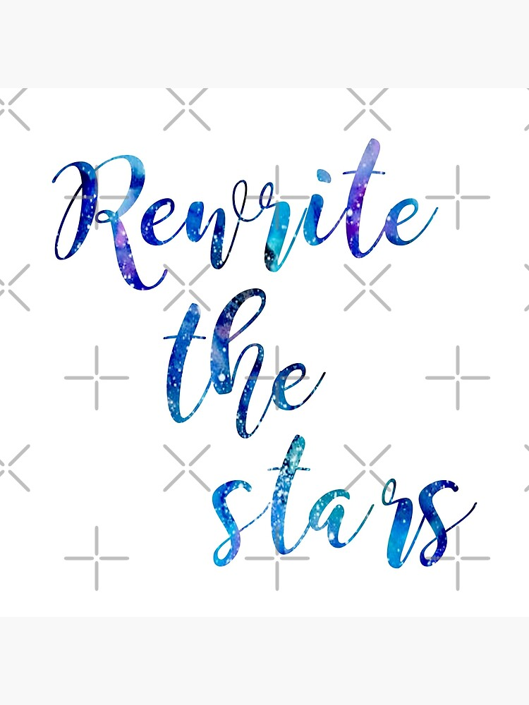 """Rewrite The Stars"" Galaxy azul y púrpura de thespiandesign"