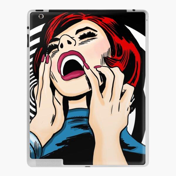 Screaming Sixties Psychedelic Siren iPad Skin