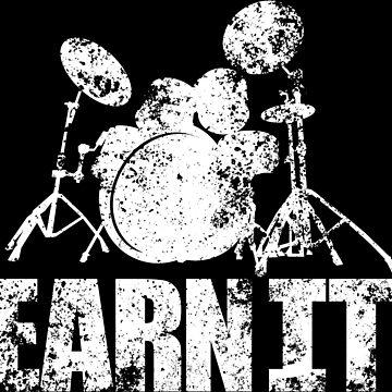 Earn It Drums by ukecompany