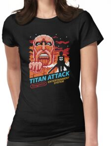 Titan Attack Womens Fitted T-Shirt