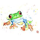 Tree Frog by Lisa Whitehouse