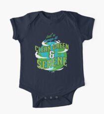 Clean Green & Serene Environmentalist One Piece - Short Sleeve