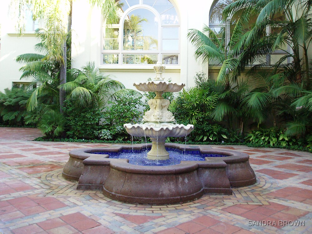 SERENE FOUNTAIN by SANDRA BROWN