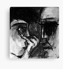 No Sight, No Voice, No Man Canvas Print