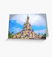 Castle of Dreams, Sleep On.... Greeting Card