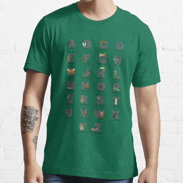 Insects Alphabet Shirt Essential T-Shirt