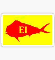 Mahi  Mahi  (Emerald isle, NC) Sticker