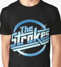 The strokes logo Graphic T-Shirt