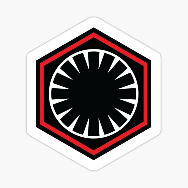 First Order Insignia Sticker