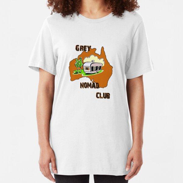 Grey Nomad Club Slim Fit T-Shirt