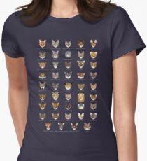 Cat Species Shirt Women's Fitted T-Shirt