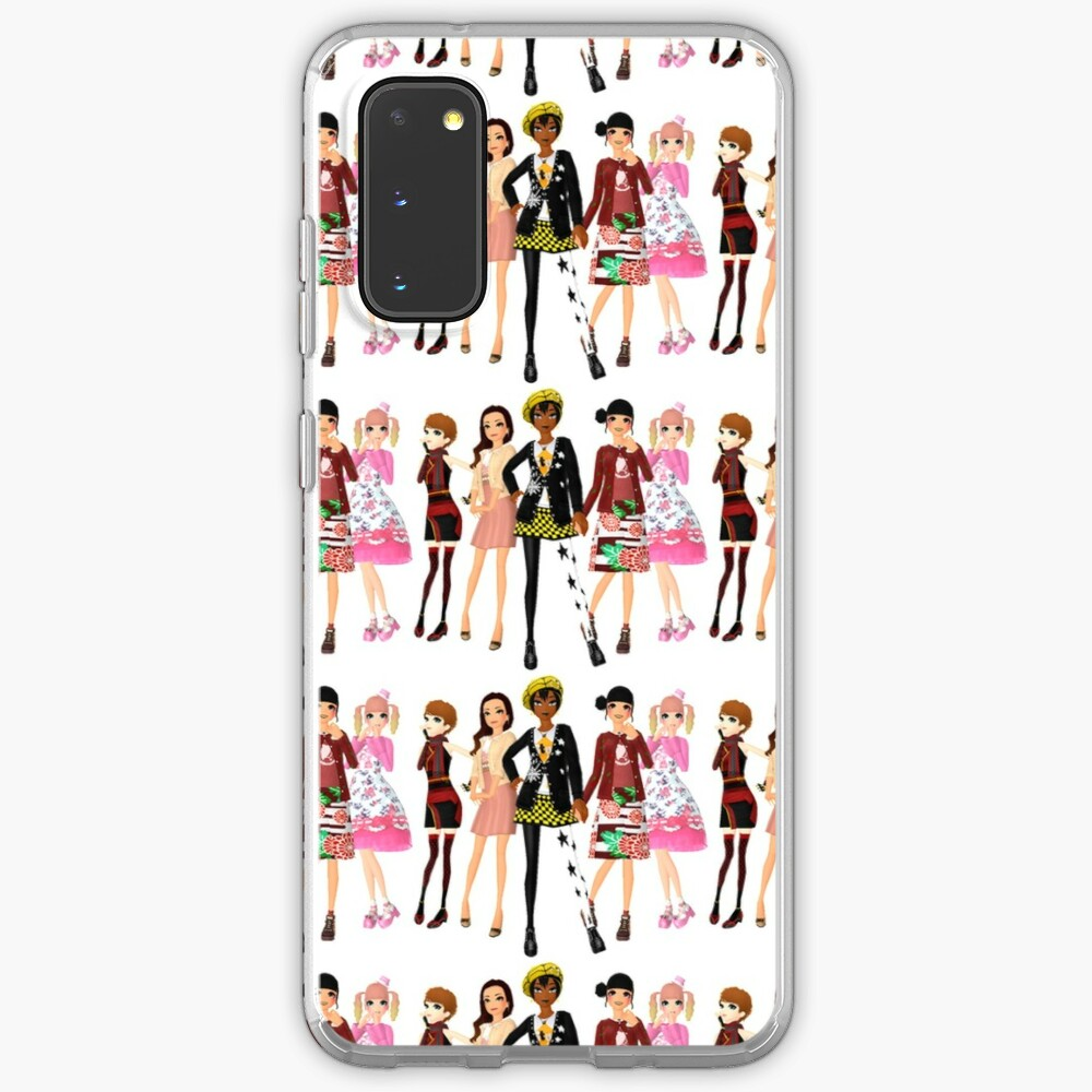 Style Savvy Fashion Forward Girls Bold Case Skin For Samsung Galaxy By Dubukat Redbubble