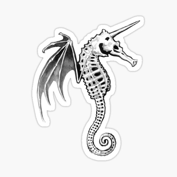 Pegasus of the Sea Sticker