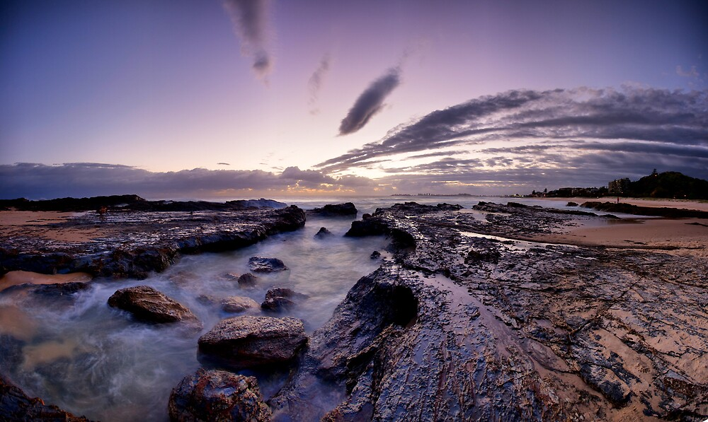 Currumbin Point by Lance Jackson