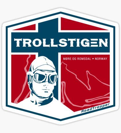 Trollstigen 2 - The Troll Road Norway T-Shirt Sticker Design Sticker