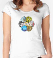 Camiseta entallada de cuello redondo Génesis Peter Gabriel años