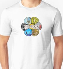 Genesis Peter Gabriel years Unisex T-Shirt