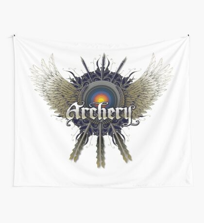 Archery 2 Wall Tapestry