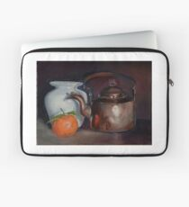 Still life with a copper kettle Laptop Sleeve