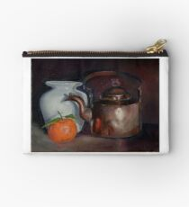 Still life with a copper kettle Studio Pouch