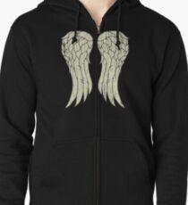 Daryl's Wings Zipped Hoodie