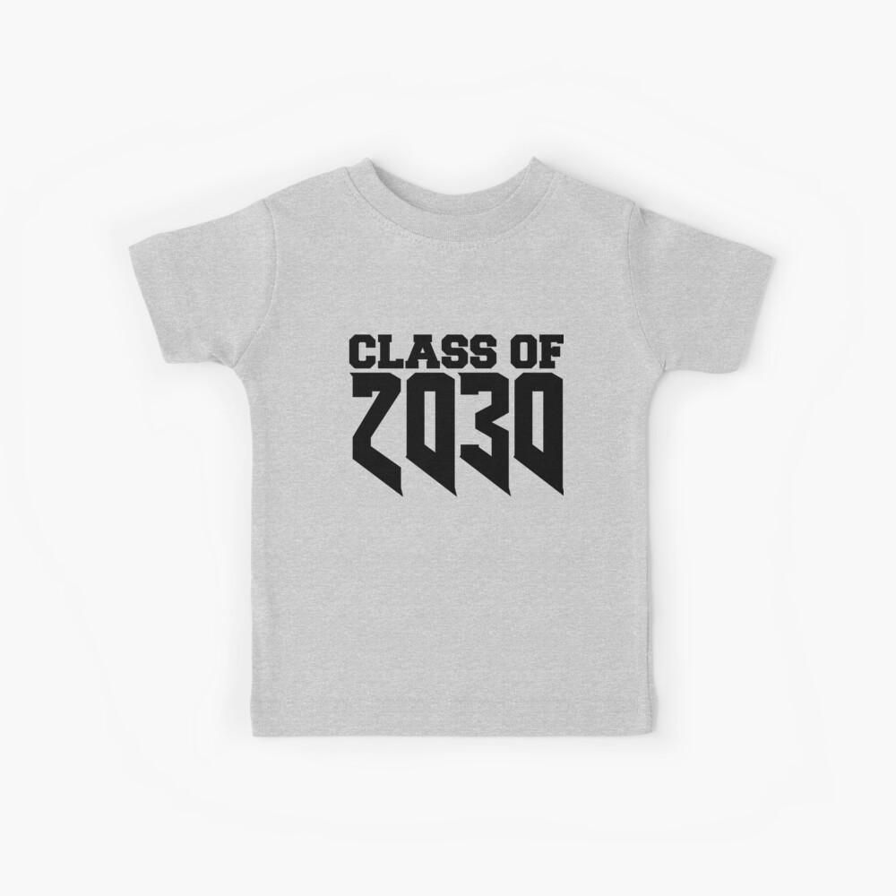 Klasse von 2030 Star Jahr High School Graduate Education Kindergarten zum Abschluss wachsen mit mir Kinder T-Shirt