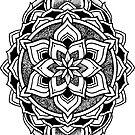 """""""October"""" Sacred Geometry Mandala by Zak Korvin"""