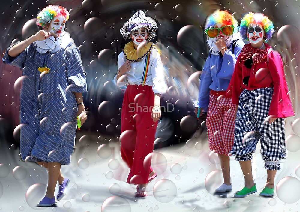 Bubbly Clowns by SharonD