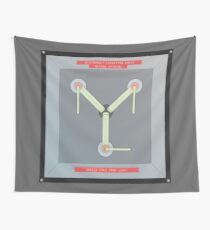flux capacitor Wall Tapestry