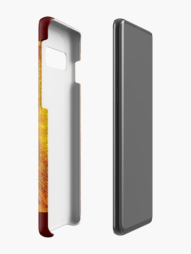 Alternative Ansicht von DAME IN GOLD: Gustav Klimt - Hochauflösender Druck von 1912 Hülle & Klebefolie für Samsung Galaxy