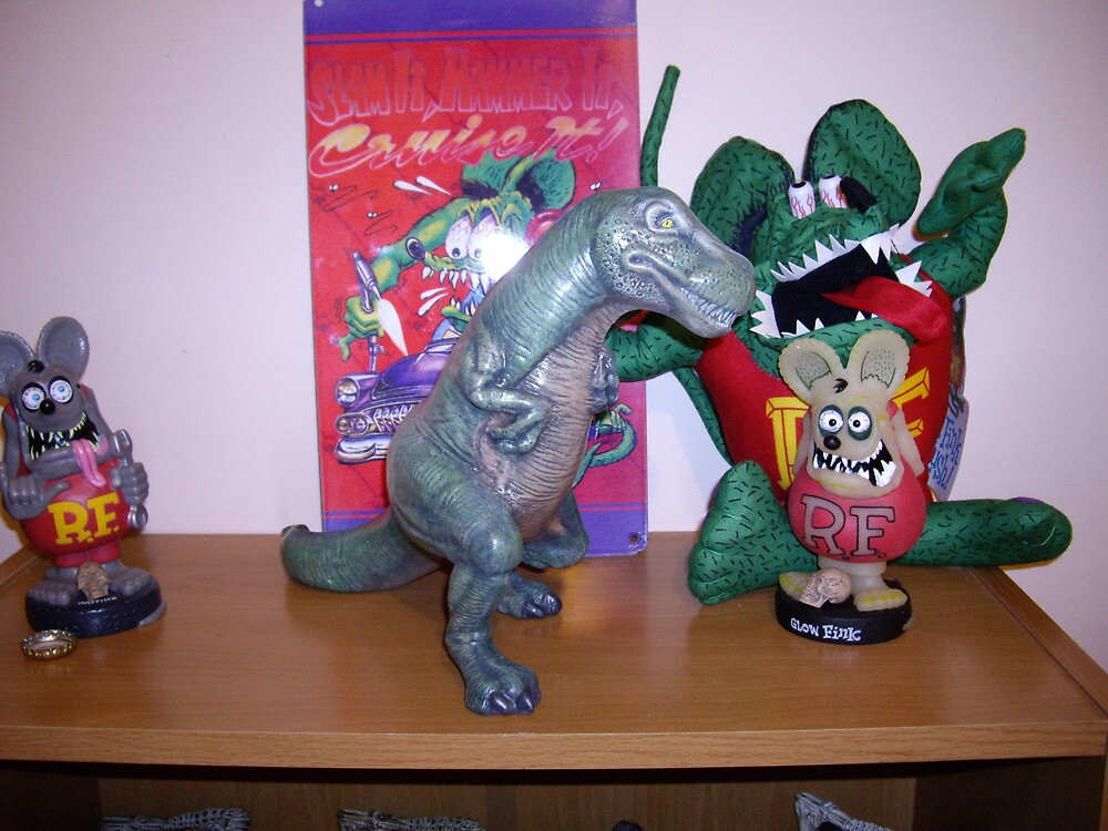 Dinosaur finished T rex by shane71