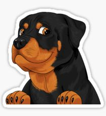 Rottweiler Dog Sticker Sticker