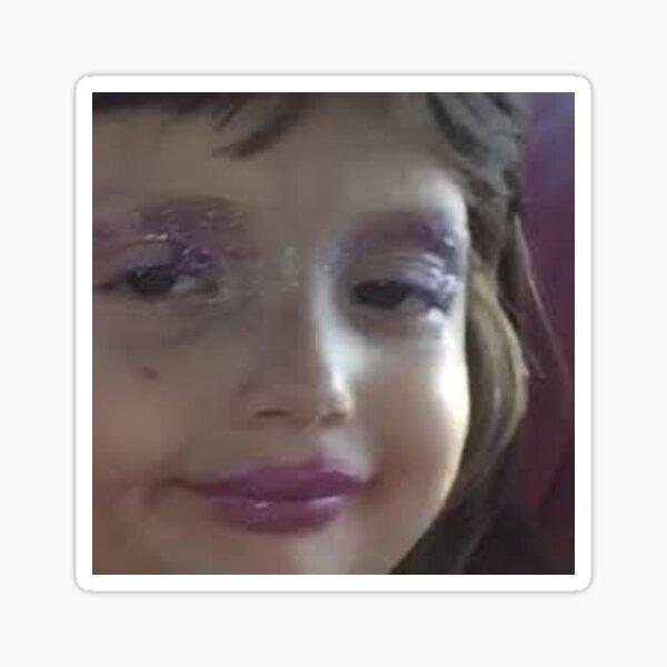 glitter vine girl Sticker