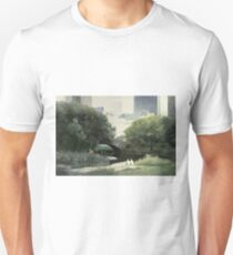 Summer Days(Central Park-New York City) Unisex T-Shirt