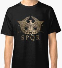 SPQR - Römisches Reich Standardschild Classic T-Shirt